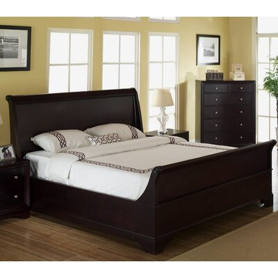 Stephenson Sleigh Bed Size: Queen