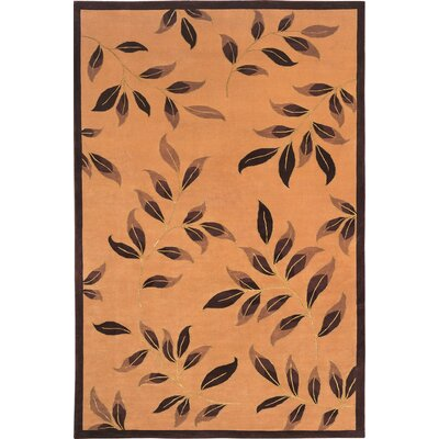 Barnett Sheep Gold Area Rug Rug Size: 6 x 9