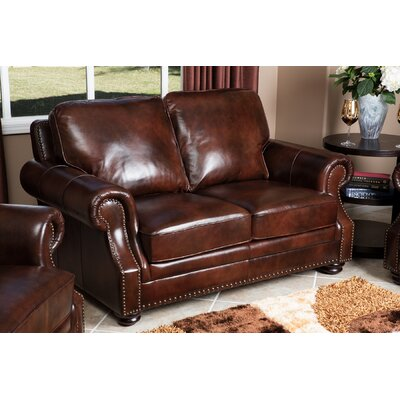 Barryknoll Leather Loveseat