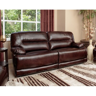 Bartlet Leather Reclining Sofa
