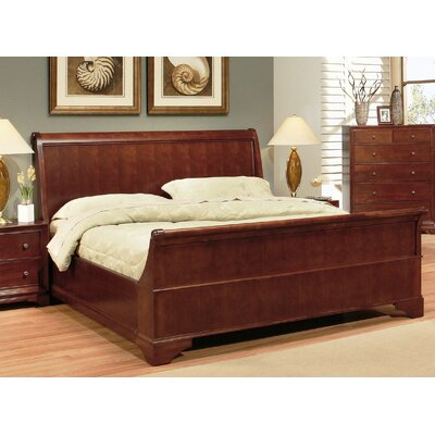 Basche Sleigh Bed Size: California King