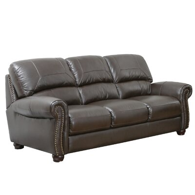 Allen Leather Sofa