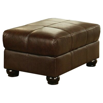 Bordelon Leather Ottoman