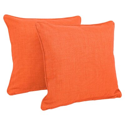 Dewald Outdoor Throw Pillow Color: Tangerine Dream