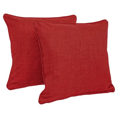 Dewald Outdoor Throw Pillow Color: Papprika