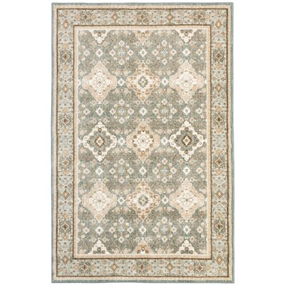 Worthville Gray Area Rug Rug Size: 8 x 11