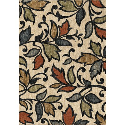Cohee Beige/Blue/Green Area Rug Rug Size: 71 x 101