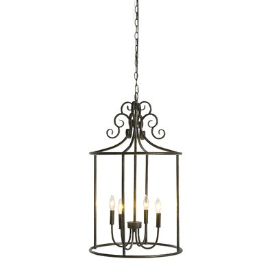 Belclaire 4-Light Foyer Pendant
