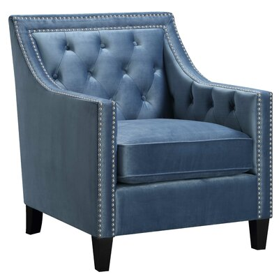 Orchid Arm Chair Upholstery: Marine Blue