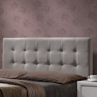 Glenside Upholstered Panel Headboard Size: King
