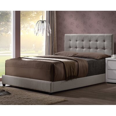 Glenside Upholstered Panel Bed Size: King