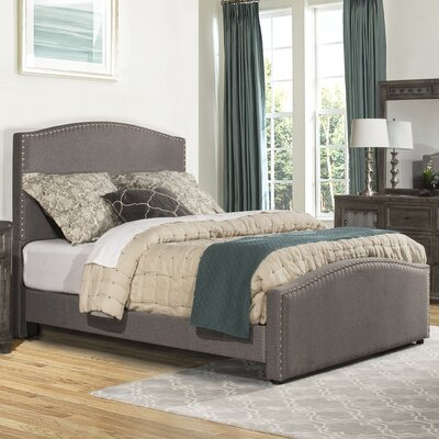 Harleigh Upholstered Panel Bed Size: King