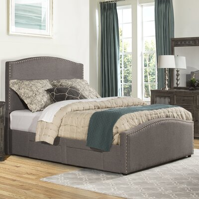 Harleigh Upholstered Storage Panel Bed Size: California King