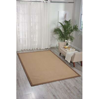 Heckler Hand-Tufted Brown Area Rug Rug Size: Rectangle 9 x 13