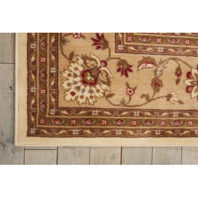 Proctorville Ivory Area Rug Rug Size: 36 x 56
