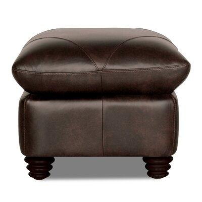 Gardner Leather Ottoman