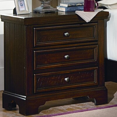 Courtney 3 Drawer Nightstand