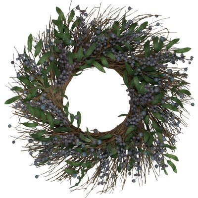24 Blueberry Wreath