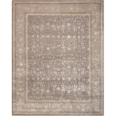 Heimann Hand-Tufted Gray Area Rug Rug Size: Rectangle 76 x 96