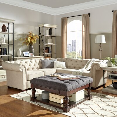 Jeffersonville Sectional Upholstery: Beige