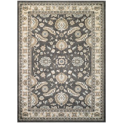 Germantown Brown/Ivory Area Rug Rug Size: Runner 27 x 710