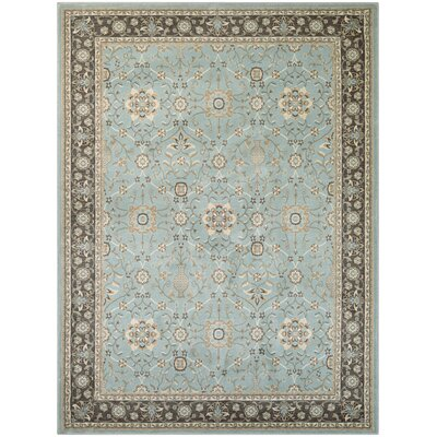 Germantown Blue Area Rug Rug Size: 3'11 x 5'5