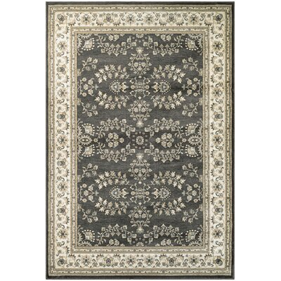Germantown Beige/Ivory Area Rug Rug Size: 53 x 76