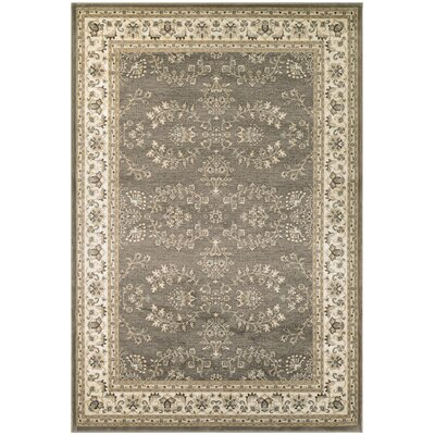 Germantown Brown/Ivory Area Rug Rug Size: 311 x 55