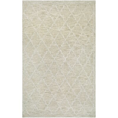 Willisville Hand-Woven Linen Area Rug Rug Size: Rectangle 97 x 137