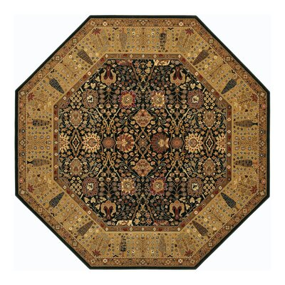 Edwards Brown Area Rug Rug Size: Octagon 66