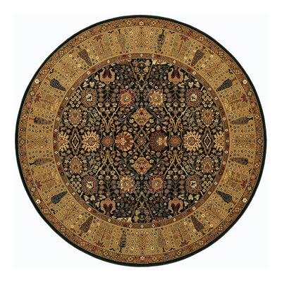 Edwards Brown Area Rug Rug Size: Round 46