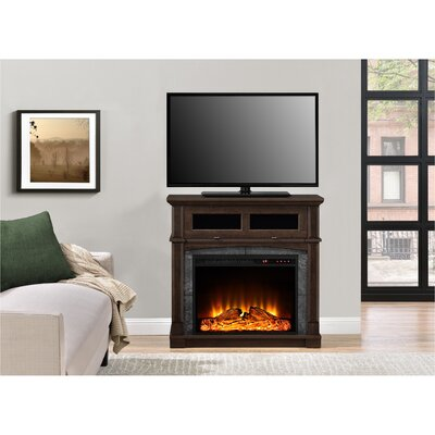 Morgandale TV Stand with Electric Fireplace