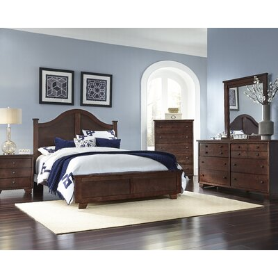 Diego Arched Panel Headboard Size: Queen