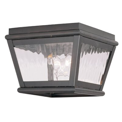 Southport 2-Light Flush Mount Finish: Bronze