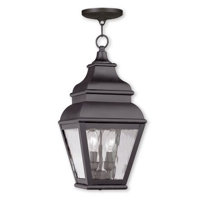 Southport 2-Light Foyer Pendant Finish: Bronze