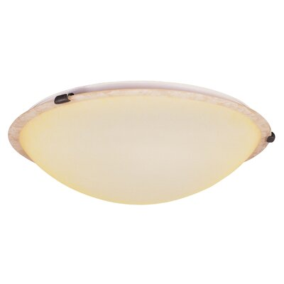 Lewisboro 3-Light Flush Mount Finish: Imperial Bronze