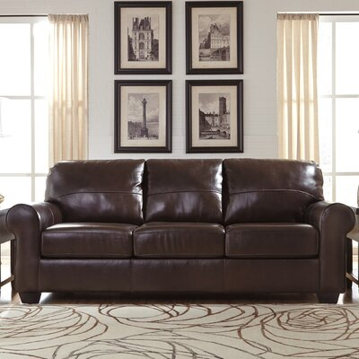 Bacall Sofa Upholstery: Chestnut
