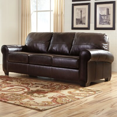 Bacall Sofa Upholstery: Chestnut