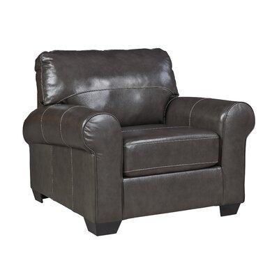 Bacall Club Chair Upholstery: Gunmetal