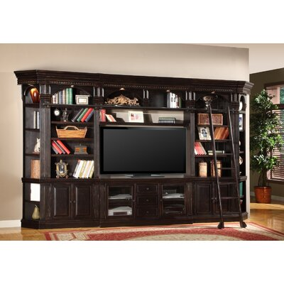 Cheap Callingwood 6 Piece Entertainment Center with Ladder for sale