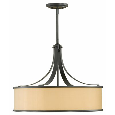 Millerton 4-Light Drum Pendant Finish: Dark Bronze