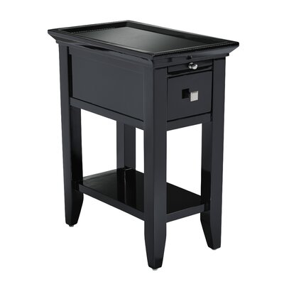Owego Granite Top End Table