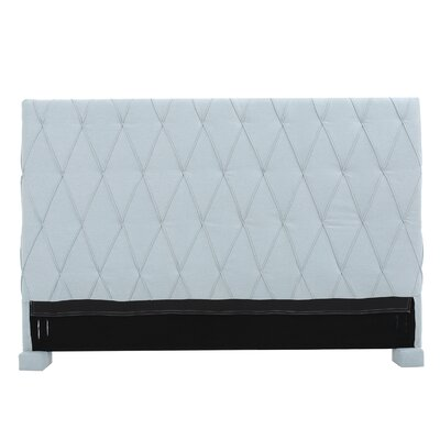 Greenlawn King Upholstered Headboard Upholstery: Light Sky Blue