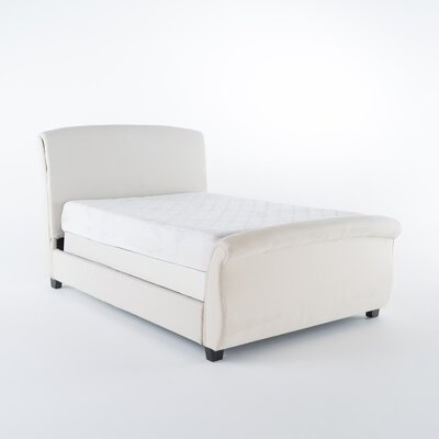 Greenock Fabric Upholstered Sleigh Bed Size: California King