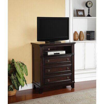 Girardville 3 Drawer Media Chest