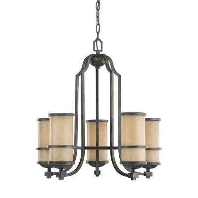 Bale 5-Light Shaded Chandelier