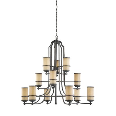 Bale 12-Light Shaded Chandelier