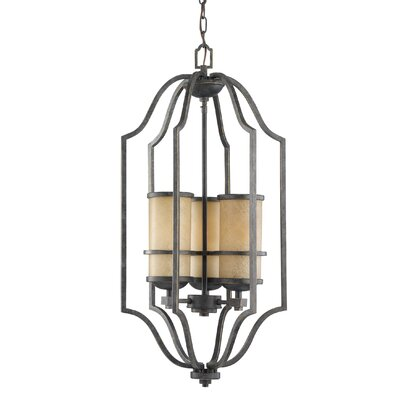Bale 3-Light Foyer Pendant