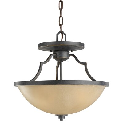 Bale 3-Light Bowl Pendant