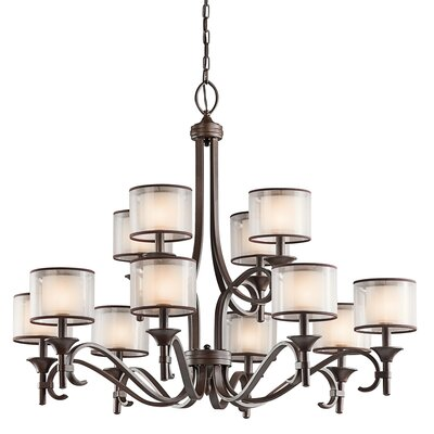 Boswell 12-Light Drum Chandelier
